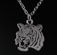 1 Pcs Tiger Pendant Necklace Tibetan Silver Charms Fashion Jewelry Gift New