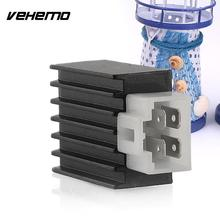 Vehemo New Well Practical Value 12V ATV Scooter Dirt Bike Stabilivolt Voltage Regulator Rectifier 50-150cc(China)