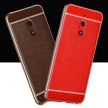 "For Microsoft Nokia 6 Case Gold Plated Bumper Soft TPU Silicone Leather Cover Shockproof Shell Skin For Nokia 6 5.5"" Phone Funda"