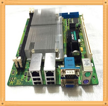 Free shipping Used MSI AM2 MINI 17 * 17 mini motherboard 690G + AMD 4850 dual-core CPU IPC HD advertising machine