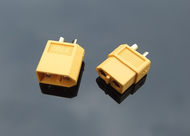 Brand New XT60 Plug Connectors 80A Aeromodelling Car Boat Model Connector Connecting Line Gold Plated Battery Connectors