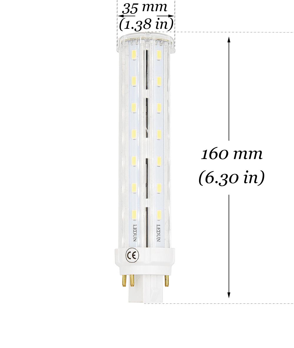 12w led gx24q 4 pin base corn light bulb 26w cfl compact fluorescent replacement gx24 g24q led pl retrofit bombillas light lamp types g24q 3 wiring diagram #12