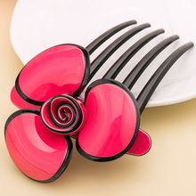 2016 New Hair Comb High Quality Flower Hair Accessories for Women Hair Comb Summer Hair Jewellery Joyeria Chaplet Free Shipping(China)