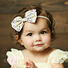 Newest Spring Baby Girl Kids Big Bowknot Hairband Headband Cute Turban Knot Head Wrap Headwear Hair Bow Accessories For Children
