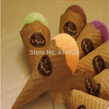 Free Shipping Top Quality 20*20CM Creative Ice Cream  Cake Towel Suprising Small Wedding Invitation Gifts Party Giveaways