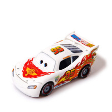 Cartoon Pixar Cars Diecast NO.95 Different Countries McQueen Metal Toy Car 1:55 Loose Brand New Alloy Car Toy For Collection(China)