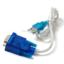 1PCS New HL-340 USB to RS232 COM Port Serial PDA 9 pin DB9 Cable Adapter Support Windows7 64