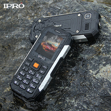Original IPRO SHARK IP67 Waterproof Shockproof Mobile Phone 2.0 inch GSM FM Torch 2500mAh Unlocked Cellphone Russian Language