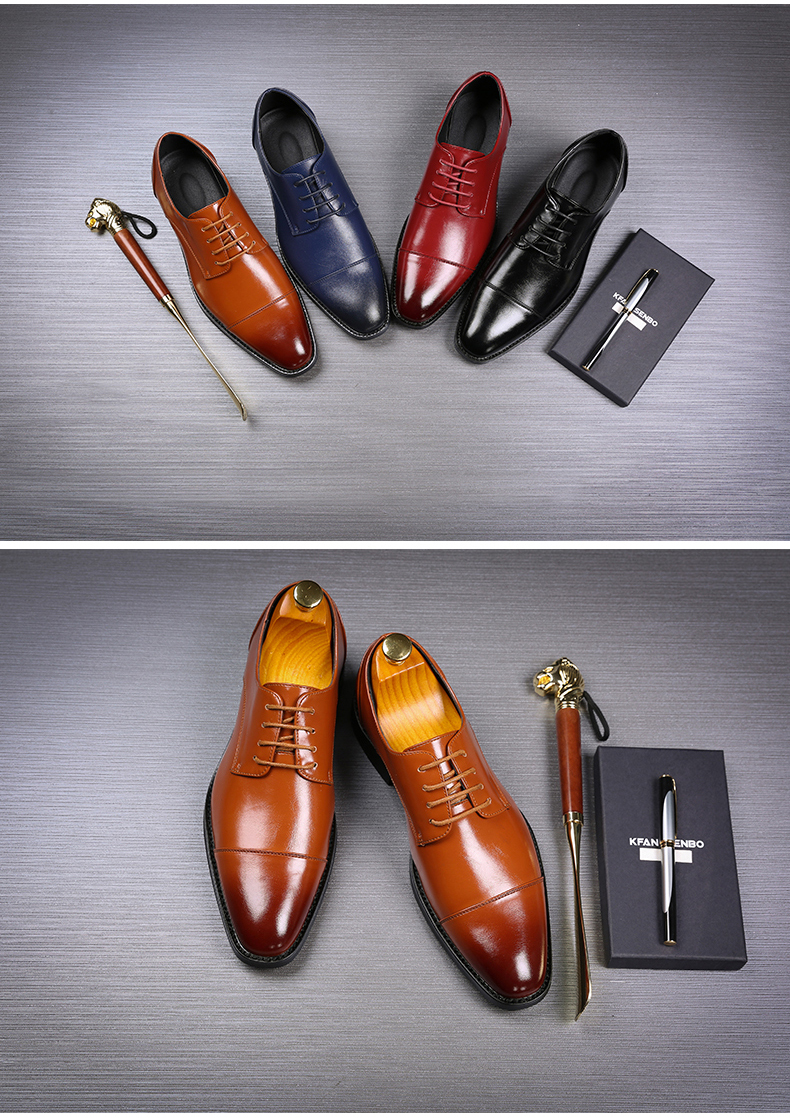 Mens Casual Shoes' Moccasin Men's Oxfords Shoes Men Winter Classic Party Wedding Men Casual Shoes Flats Formal Shoe Business New (1)