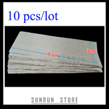 10pcs/lot High Temperature Soft Mica Plates Sheets insulation for Hot Air Gun, Convection Heaters, Electronic Furnace, Generator