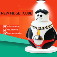 Fidget Cube Doll Toy Antistress Stress Cube Mini Cool EDC Hand Desk Finger Dolls Action Figure Toys for Children and Adults
