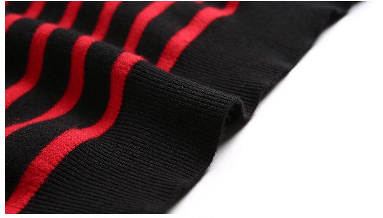 100% Wool sweater men turtleneck striped pure woolen mens sweaters male pullover autumn winter knitwear Brand Muls M-4XL 3126-07