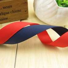 2017 10m/lot 1.5cm Ribs 15mm Classic Red Ribbon Manufacturers Wholesale With Blue And White Hair Bow Hand Rib Belt Diy Material
