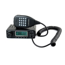 LEIXEN VV-808SU Single Band Single Frequency VHF/UHF 10W 199CH Two way radio PTT ID DTMF Mobile Transceiver