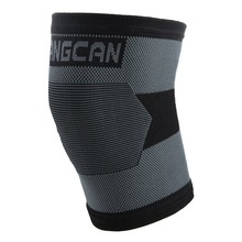 FANGCAN Sports Knee Pads Knitting with Contrast Color Bike Basketball Equipment Knee Protector