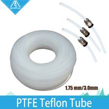 1meter PTFE Teflon Long Distance Feed Tube for 1.75 mm/3.0mm Filament RepRap  Makerb / Reprap / Mendel DIY 3D Printer Parts