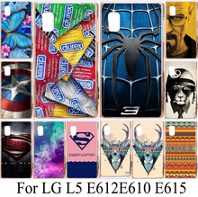 hard plastic phone cases for LG Optimus L5 E610 E612 E615 Google Nexus 4 Optimus G Pro F240 cases covers shell bag housing skin