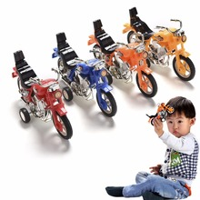 New Arrival 1Pcs Children's Educational Toys Pull Back Motorcycle Vehicle Toys Gifts Children Kids Motor Bike Model(China)