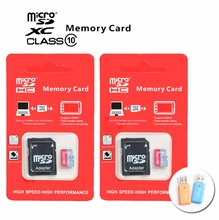 Micro SD Card 32GB Class 10 8GB/64GB/128GB SDHC Memory Card TF Flash Memory Microsd for Smartphone+ Card reader
