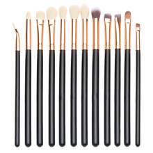 Pincel Maquiagem New Fashion 12pcs Eye Brush Set Cosmetics Concealer Eyeliner Blending Eyeshadow Brushes For Dropshipping