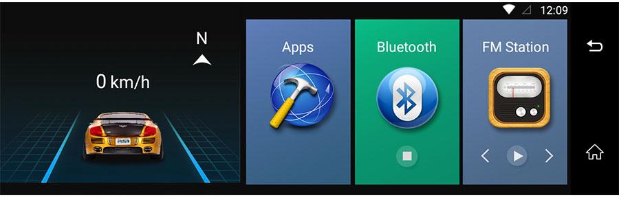 "Junsun 4G ADAS Car DVR Camera Digital Video recorder mirror 7.86"" Android 5.1 with two cameras dash cam Registrar black box 16GB 34"