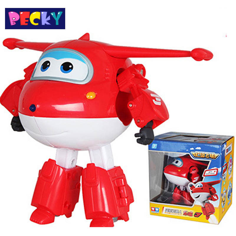 2015 Big Size Super Wings Deformation Airplane Robot ABS Action Figures Super Wing kid toys for children gift Brinquedos Becky<br><br>Aliexpress