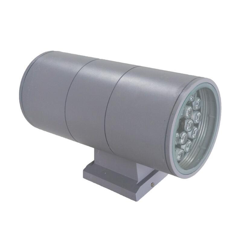 Led outdoor 6w/12w/18w/24w/36w wall lamp double slider wall lamp light double slider wall lamp exterior lights Free shipping<br><br>Aliexpress