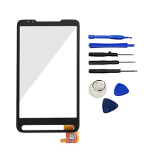 Hot Sale For HTC HD2 LEO T8585 Touch Screen Digitizer Front Panel Outer Glass Digitizer Parts With Tools Logo Free Shipping