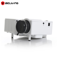 "Proyector Full HD 60"" Portable mini LED Projector Cinema Theater Home Video Support PC Laptop VGA for office tv home"