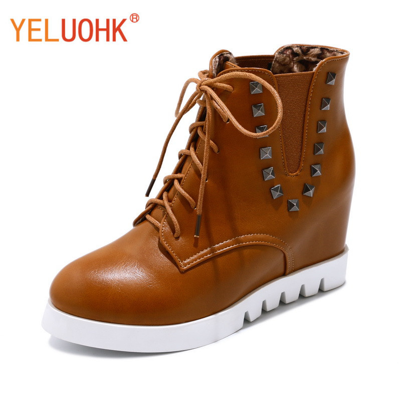 33-43 Women Winter Boots Platform Winter Women Boots Female Winter Shoes Ankle Boots For Women Big Size<br>