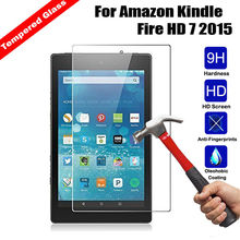 "Premium Anti-shatter tempered glass film For Amazon Kindle Fire HD 7 HD7 7.0"" 2015 tablet Screen Protector Films(China)"