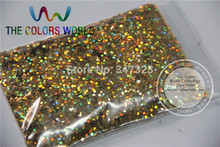 1.5MM Laser Gold Color Glitter Powder,holographic Color Glitter for nail art or Other Decoration(China)