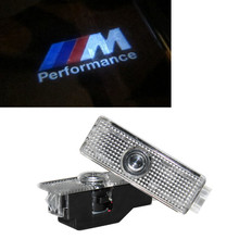 LED Car Door Courtesy Laser Projector Welcome Logo Ghost Shadow Light For BMW M Performance E60 E63 E90 E92 E93 X1 X3 X6 M3 M5