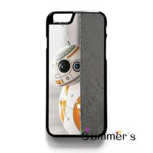 back shell skins cellphone case cover for iphone 4 4s 5 5s 5c SE 6 6s 7 plus ipod touch 4/5/6 STAR WARS BB8 DROID