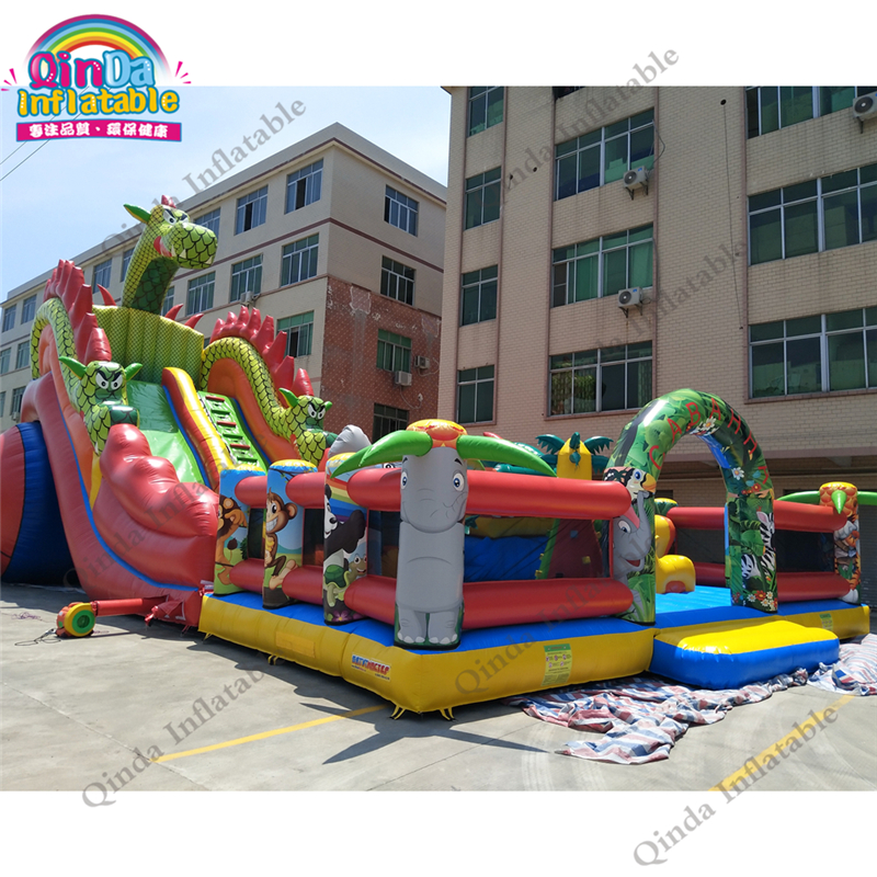inflatable bounce obstacle adult78