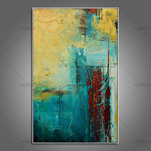 hanmade canvas oil paintings abstract oil paintings decorative wall painting canvas pictures for living room modern abstract art(China)