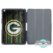 Green Bay Packers American Fooball Case For Apple iPad Mini 1 2 3 4 Air Pro 9.7 Stand Smart Folio Cover
