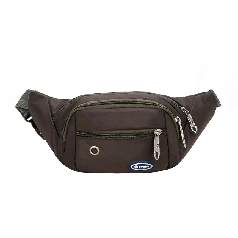 09d394d729 Men Women Waterproof Waist Bag Outdoor Sports Fanny Pack Crossbody Belt  Pouch Specifications  Material  Polyester Fabric  Waterproof oxford