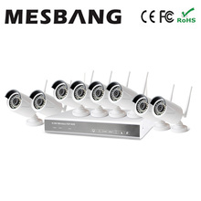 Mesbang 960P 8ch wireless security camera system no need cable east install build in 1TB HDD   free shipping