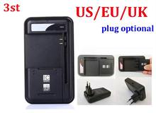 100pcs/lot* 3st 2 in 1 Multi-functional Mobile Universal Battery Charger dock YIBOYUAN For Cell Phones USB-Port(China)