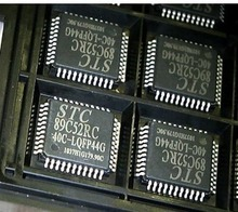 Patch original STC89C52RC - 40 c - LQFP44 serial programming (download) single-chip microcomputer