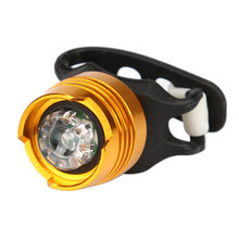LED Bicycle Bike Front Rear Tail Helmet Flash Light Safety Warning Lamp Fine Wholesale K90