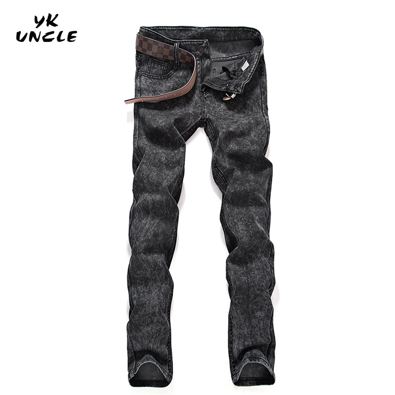 Feet Jeans Men 2017 Strech Printed Jeans Good Quality Mens Long Jean Denim Jeans Slim Fit Casual size 28 - 36 Hombres,YK UNCLEОдежда и ак�е��уары<br><br><br>Aliexpress