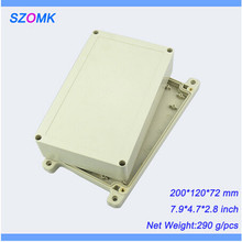 1 piece, hot selling abs electronics plastic waterproof enclosure 200*120*72mm  abs plastic boxes, electronics outlet enclosure