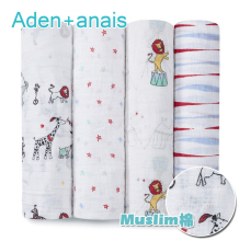 2017 Summer Baby Blankets Aden Anais Muslin Bedding Infant Swaddle bathing Towel Newborn Multi-use cotton/bamboo Blanket Wrap