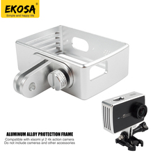 Buy EKOSA Aluminum Case Xiaomi Yi 4K Action Camera Metal Protect Frame Hard Bag PC Activity Mount Yi 4K Accessories for $10.40 in AliExpress store