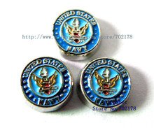 United States Navy wholesales10pcs floating locket memory charms FC273 fit living memory floating locket as families friend gift