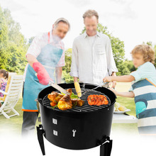 Multi-functional BBQ Charcoal Grill Roasting Stove Furnace for Backyard Garden Picnic Cooking