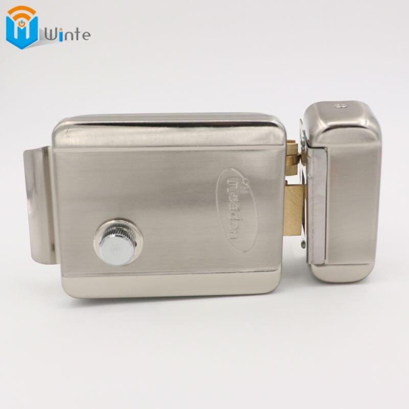 Electric Door Lock Secure Electric metallic Lock Electronic Door Lock for Video Intercom Doorbell Door Access Control Winte<br>