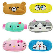 New Women Cartoon Minions Hello Kitty Zipper Makeup bag Girl Cute Cosmetic Bag travel Storage Bags Make Up Organizer 30
